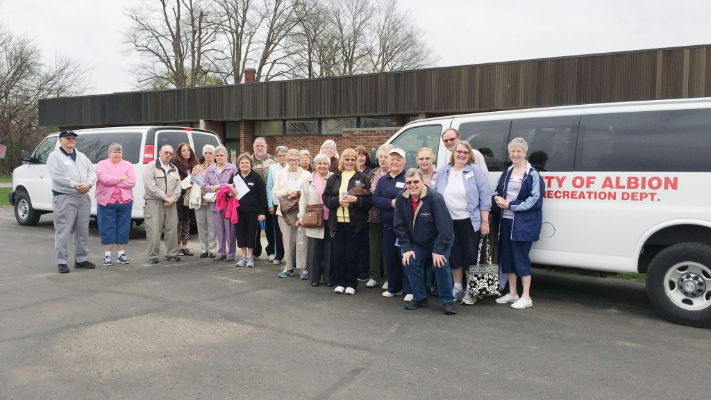 Forks Senior Center go on Meijer Garden Trip